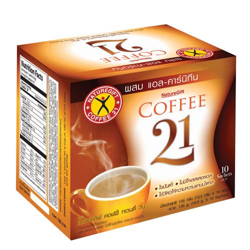 NatureGift Coffee 21 10 sachets