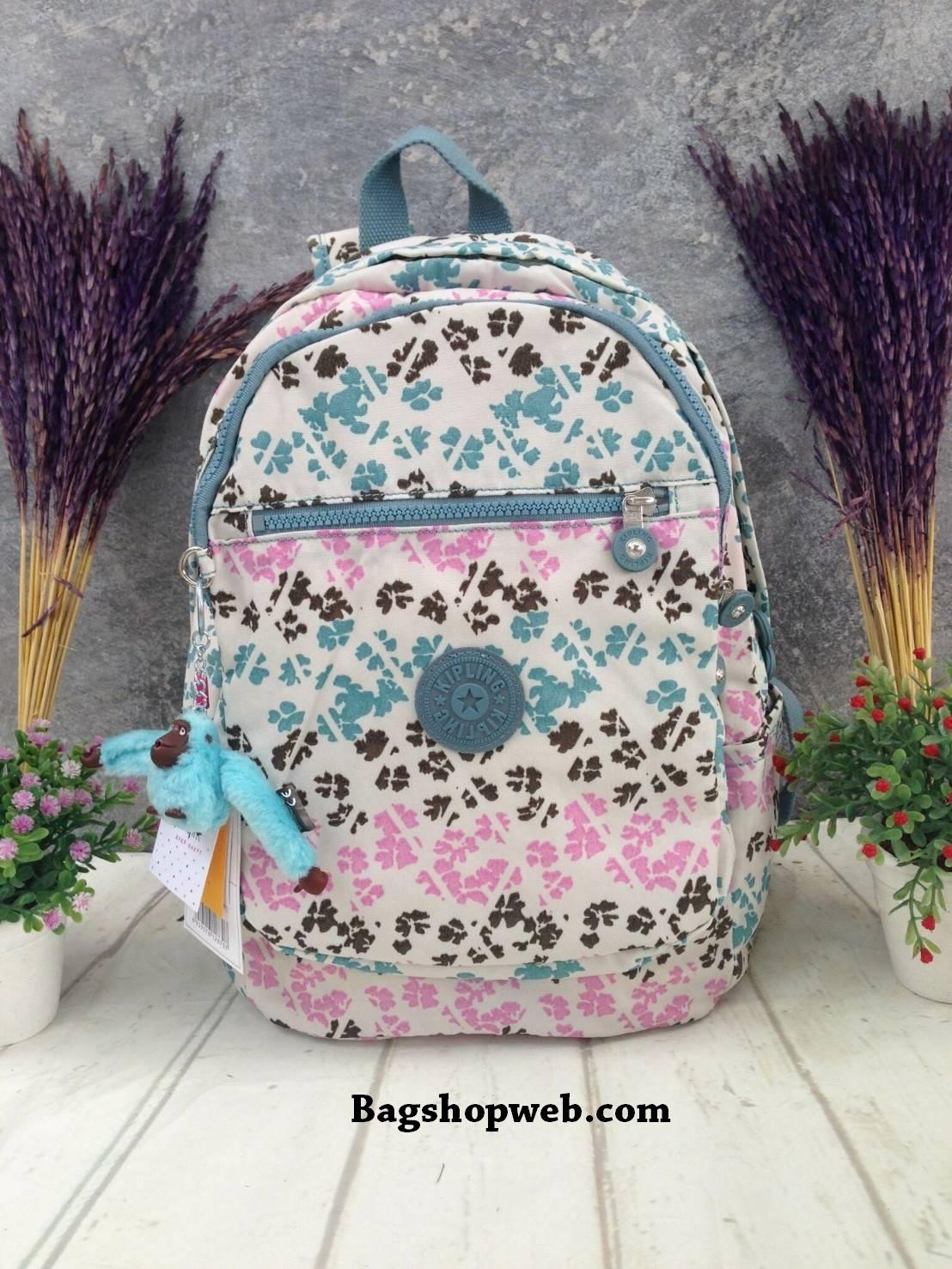 KIPLING CLAS CHALLENGER Backpack พร้อมส่ง 4 สีค่า #น่าใช้มากๆเลยน๊า
