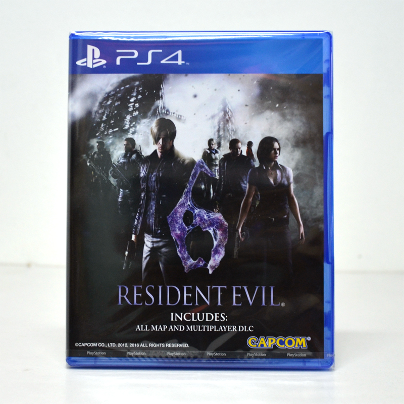 PS 4™ Resident Evil 6 /zone1 us eng, zone 3 asia English