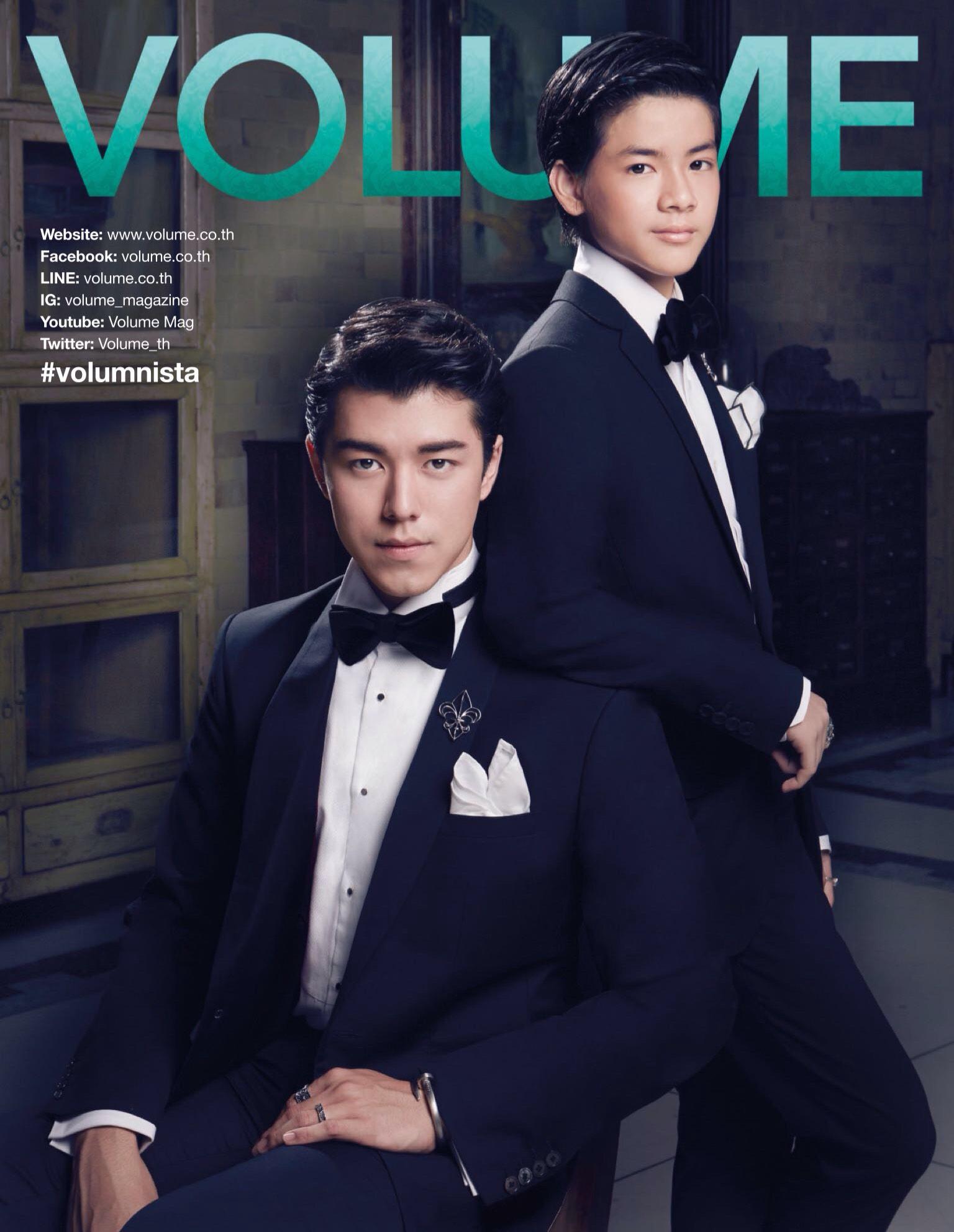 พบกับ Elite & Luck Cufflinks ได้ในนิตยสาร Volume ฉบับเดือนพฤศจิกายน 2015.