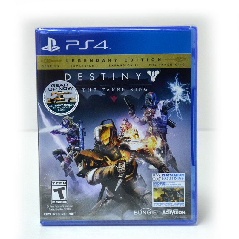 PS4 Destiny The Taken King - Legendary Edition Zone 1 US ,zone3