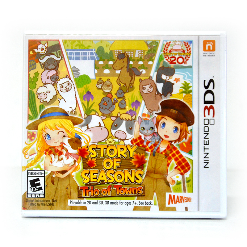 3DS™ (US) Story of Seasons: Trio of Towns Zone US / English