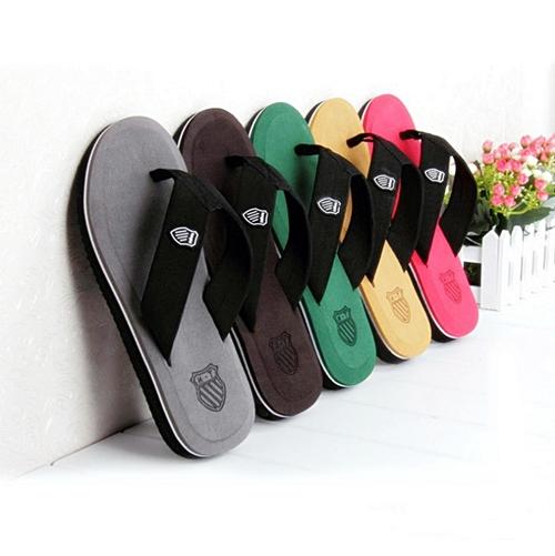 รองเท้าแตะผู้ชาย K - Swiss inspired Plush 2 สี เทา,แดง,เขียว