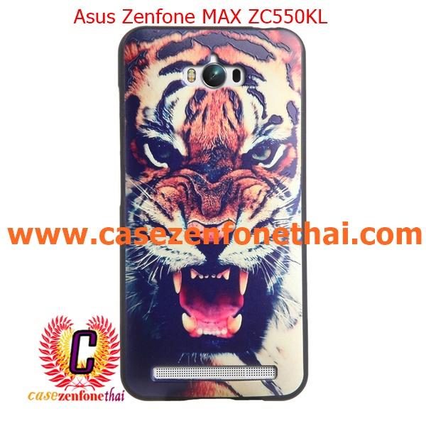 เคส asus zenfone max zc550kl TPU พิมพ์ลาย 3D Tiger