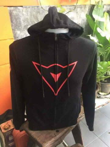เสื้อแจ็คเก็ต ฮูด Dainese MotoGP ดำ
