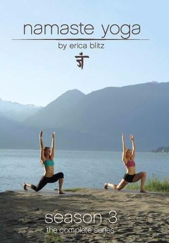Namaste Yoga Season 3 E01-E13 with Erica Blitz 2 DVDs