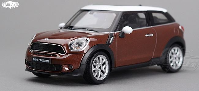 ขาย pre order โมเดลรถยนต์ BMW Mini Paceman 1:24 สีน้ำตาล มี โปรโมชั่น