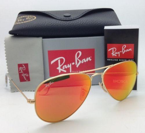Ray Ban Aviator RB3025 112/69 Orange mirror