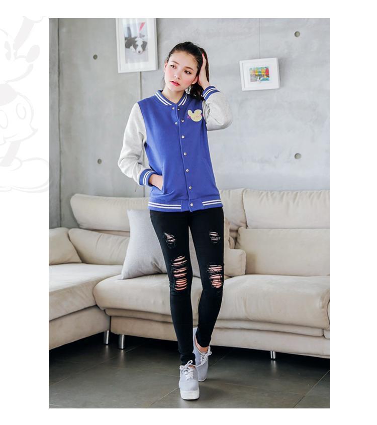 พรีออเดอร์ เสื้อกันหนาวแฟชั่นไต้หวันไซส์ใหญ่ ยี่ห้อ Orange Bear แขนยาว สำหรับสาววัยทีน สุดชีค - Preorder Large Size Women Taiwan Hitz Brand Orange Bear Long-Sleeved Jacket