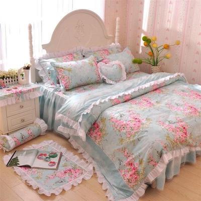 ชุดผ้าปูที่นอนเจ้าหญิง ลูกไม้