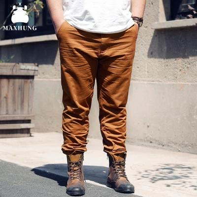 [พรีออเดอร์] กางเกงแฟชั่นเกาหลีผู้ชายไซต์ใหญ่ 2XL - 6XL ขายาว - [Preorder] Plus size Men ฺKorean Hitz 2XL - 6XL Long Trousers