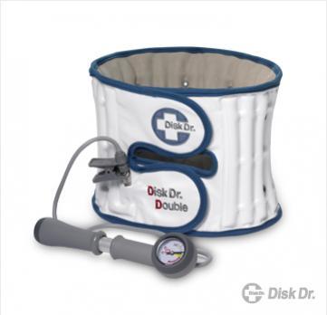 """Disk Dr. Double WG 50 (size M เอว 27""""-30 """") อุปกรณ์กายภาพบำบัด สำหรับ ป้องกัน และรักษาอาการ """"ปวดหลัง, ปวดเอว"""""""