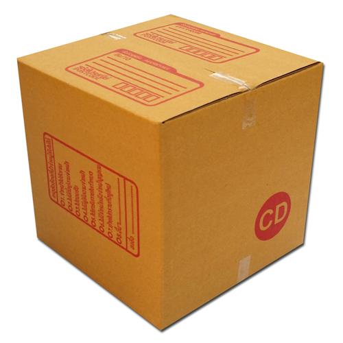กล่องไปรษณีย์ฝาชนเบอร์ CD ขนาด 15 X 15 X 15 cm. ใบละ 3.8 บาท