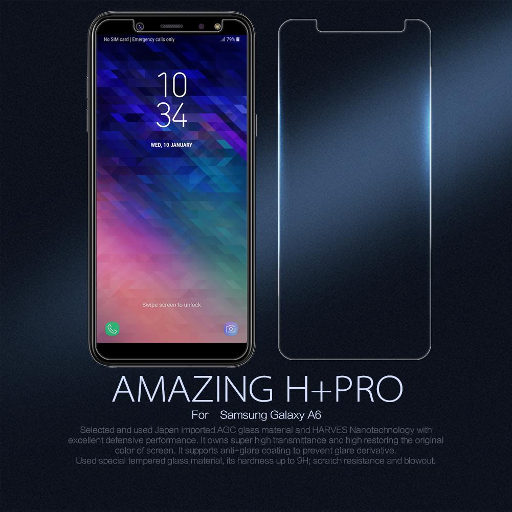 ฟิล์มกระจกนิรภัย Samsung Galaxy A6