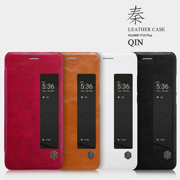 เคสมือถือ Huawei P10 Plus รุ่น Qin Leather Case