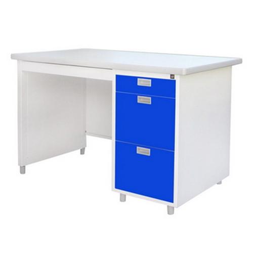 โต๊ะทำงานหน้าเหล็กปิดผิวด้วยลามิเนท