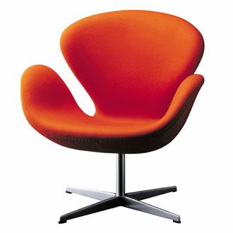 เก้าอี้ Swan chair-cashmere or wool