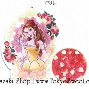 พร้อมส่ง ** Disney Princess Bloom Shower Bath Petal [Belle - Romance Rose] ดอกไม้หอมกลิ่นโรมานซ์โรส มาในแพคเกจรูปเจ้าหญิงเบลล์ ใช้โปรยลงอ่างอาบน้ำเพื่อทำให้น้ำมีกลิ่นหอมอโรม่าและอ่างอาบน้ำฟองฟู่