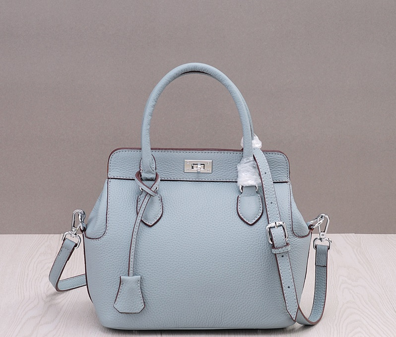 กระเป๋าหนัง toolbox (baby blue)
