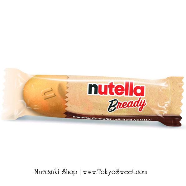 พร้อมส่ง [สินค้านำเข้าจากฝรั่งเศส] ** Ferrero Nutella B-ready เวเฟอร์อบกรอบรูปขนมปังฝรั่งเศสสอดไส้นูเทลล่า 1 ชิ้น