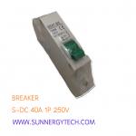 Beaker แบบ MCB_S-DC ขนาด 40A 250V 1P