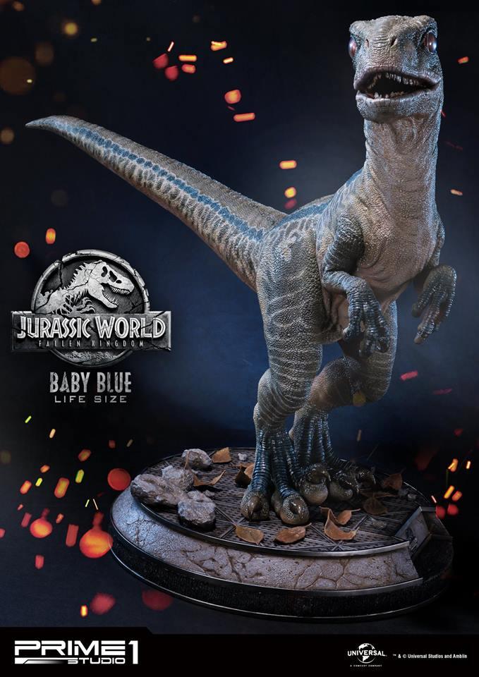 29/08/2018 Prime 1 Studio LMCJW2-02 BABY BLUE (JURASSIC WORLD FALLEN KINGDOM)