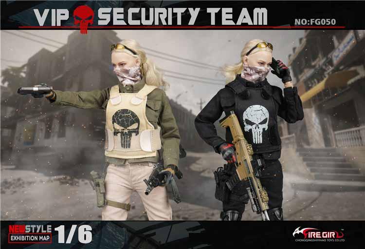 Fire Girl Toys FG050 VIP Security Assurance Team