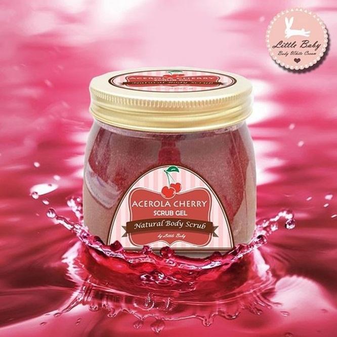 Little Baby Acerola Cherry Scrub Gel ลิตเติ้ล เบบี้ อะเซโรล่า เชอร์รี่ สครับ เจล