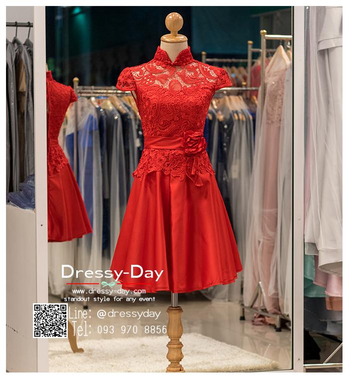 รหัส ชุดกี่เพ้า :KPS054 ชุดกี่เพ้าพร้อมส่ง มีชุดกี่เพ้าคนอ้วน แบบสั้น สีแดง คัตติ้งเป๊ะมาก ใส่ออกงาน ไปงานแต่งงาน ใส่เป็นชุดพิธีกร ชุดเพื่อนเจ้าสาว ชุดถ่ายพรีเวดดิ้ง ชุดยกน้ำชา หรือ ใส่ ชุดกี่เพ้าแต่งงาน สวยมากๆ ค่ะ