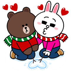 Brown & Cony's Snug Winter Date