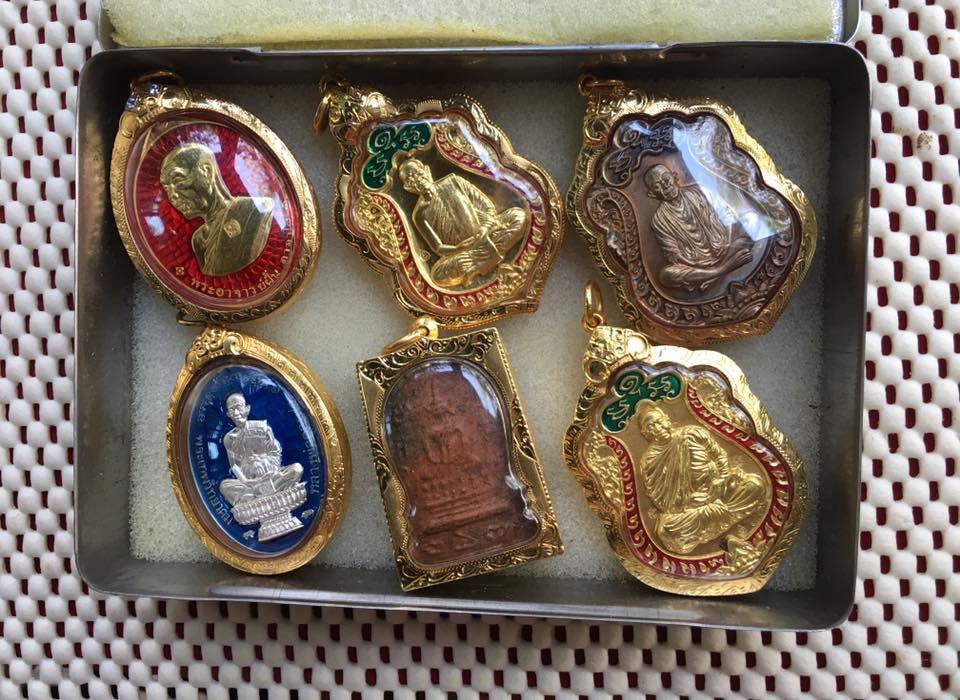 เหรียญเสมา ประทานพร พระอาจารย์เชาวรัตน์ วัดป่าวังหิน สกลนคร เลข 31 เนื้อทองคำ เลี่ยมทองคำแท้ 50,000 หนัก 35.1 กรัม จัดสร้าง 49 องค์ (สายหลวงปู่มั่น) (ราคาวัด 70,000)