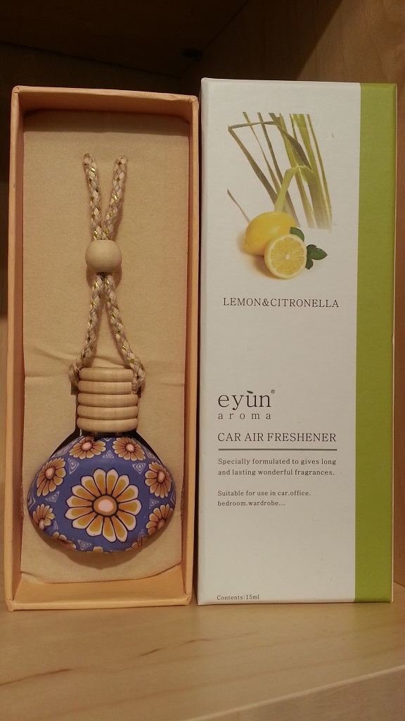 Eyun aroma Car Air Lemon&Citronella 15ml.Price ราคา 200 บาท.