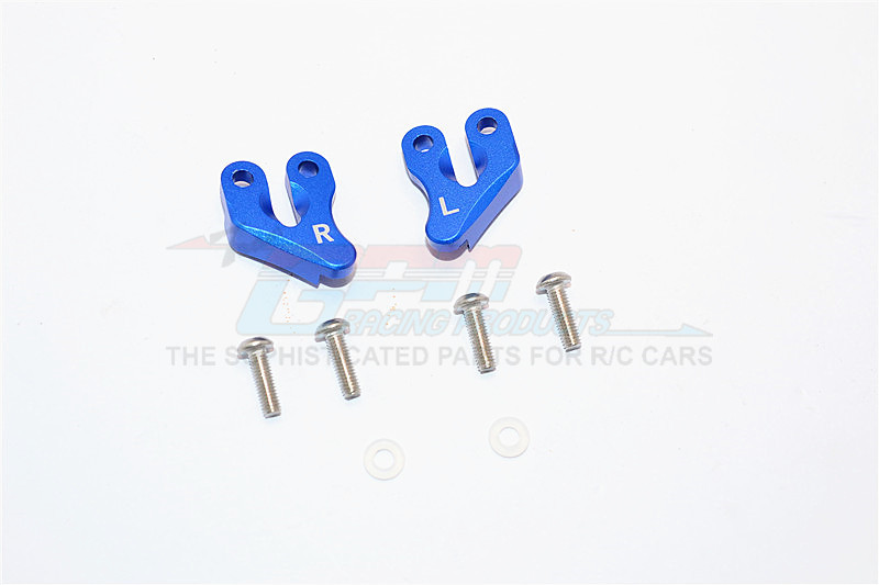 ALUMINIUM REAR SUPPORTING MOUNT - 2PCS SET (FOR SMT10 MONSTER JAM AX90055, AX90057)