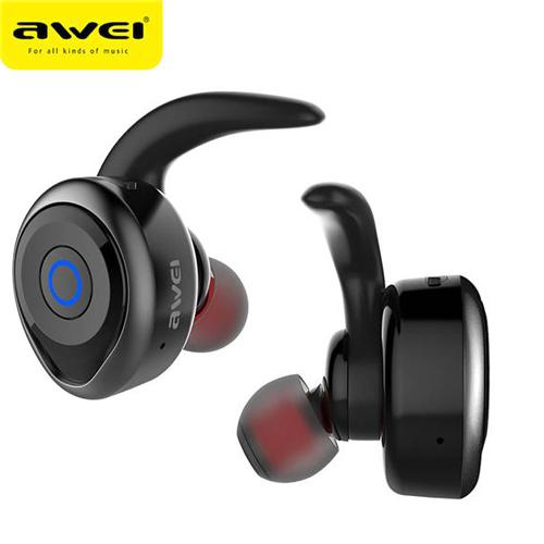 Awei หูฟังบลูทูธ สเตอริโอ AirPods style รุ่น T1