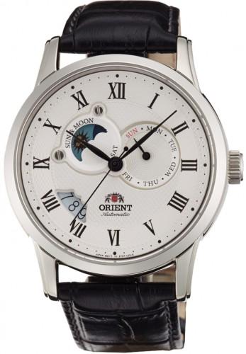 นาฬิกาผู้ชาย Orient รุ่น SET0T002S0, Automatic Sun And Moon Collection Japan