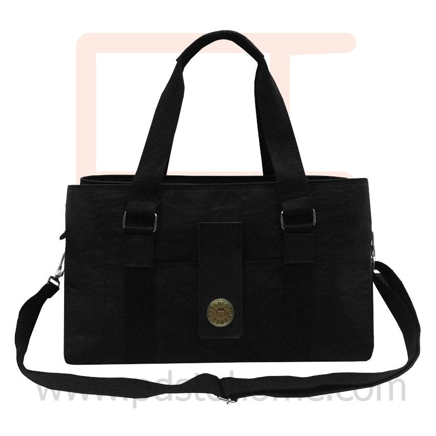 Handbag horizontal rectangle shape, work, leisure and vacation bag, good quality