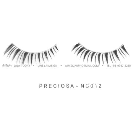 PRECIOSA EYELASH รุ่น NATURAL CLEAR (NC012)