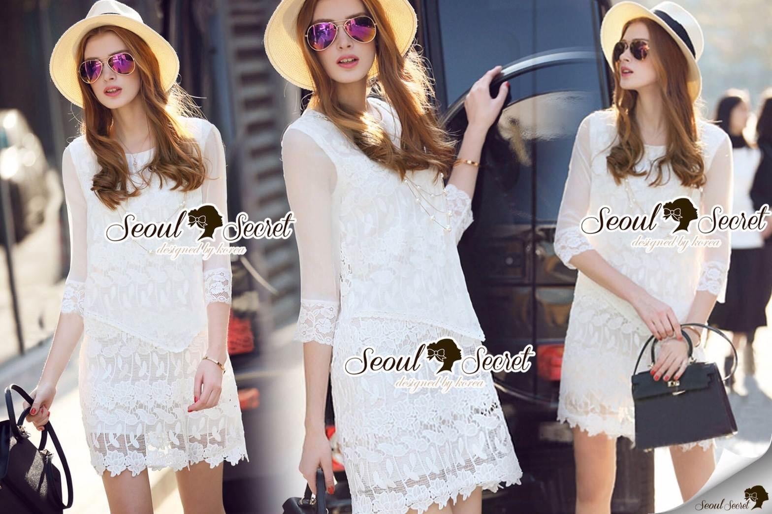Seoul Secret Say's... Lollita Princess Lace Dress