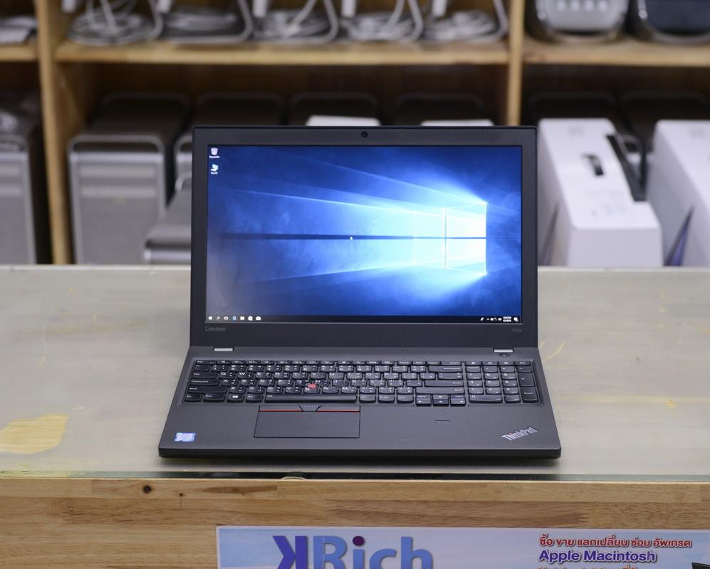 Lenovo ThinkPad P50s MOBILE WORKSTATION i7-6500U 2.5GHz RAM 16GB SSD 256GB Nvidia Quadro M500M 2GB GDDR3 15-inch IPS FullHD Display Lenovo Warranty 04-10-19