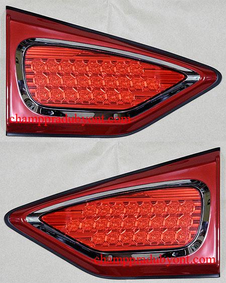 ไฟเสริมท้าย MITSUBISHI TRITON 06-14 แดง LED FITT (V.2)