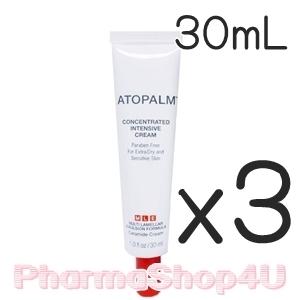 (ซื้อ3 ราคาพิเศษ) ATOPALM Concentrated Intensive Cream 30mL อโทปาล์ม ครีมเข้มข้นเพื่อการบำรุงสำหรับผิวแห้งเป็นพิเศษ