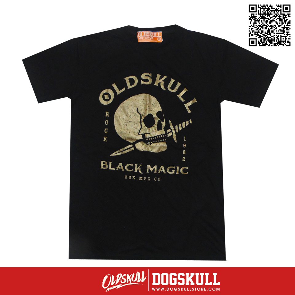 เสื้อยืด OLDSKULL: ULTIMATE HD94 | BLACK