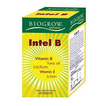 Biogrow Intel B 30 Tablets ไบโอโกรว์ อินเทล บี 30 เม็ด