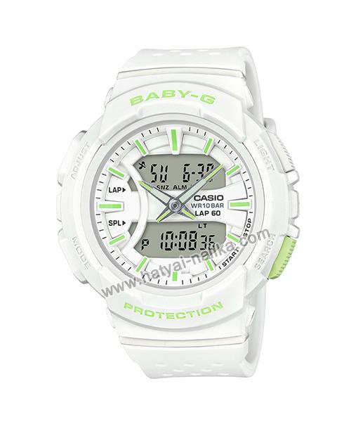 นาฬิกา Casio Baby-G for Running BGA-240 Neon Color series รุ่น BGA-240-7A2 ของแท้ รับประกัน1ปี