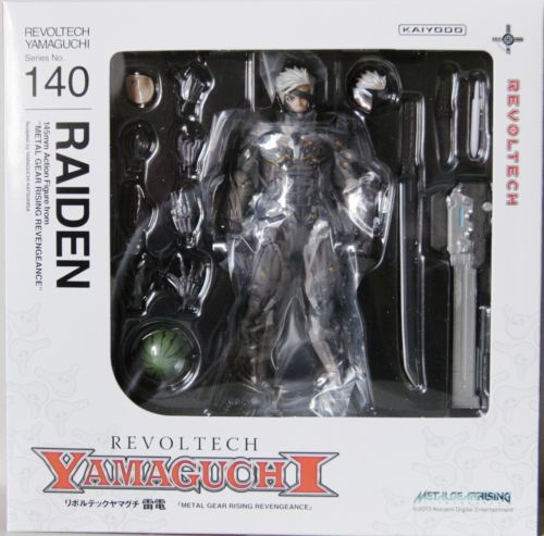 Revoltech Series No.140 Raiden Metal Gear Rising Revengeance NEW