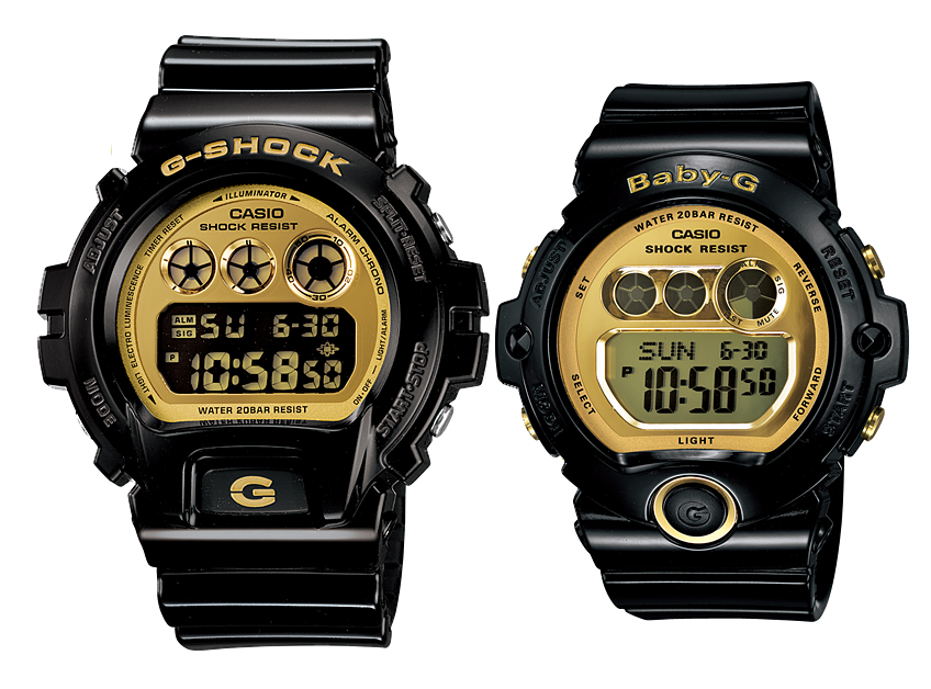 นาฬิกา Casio G-Shock SETคู่รัก รุ่น DW-6900CB-1 คู่ BG-6901-1 Pair set ของแท้ รับประกัน 1 ปี