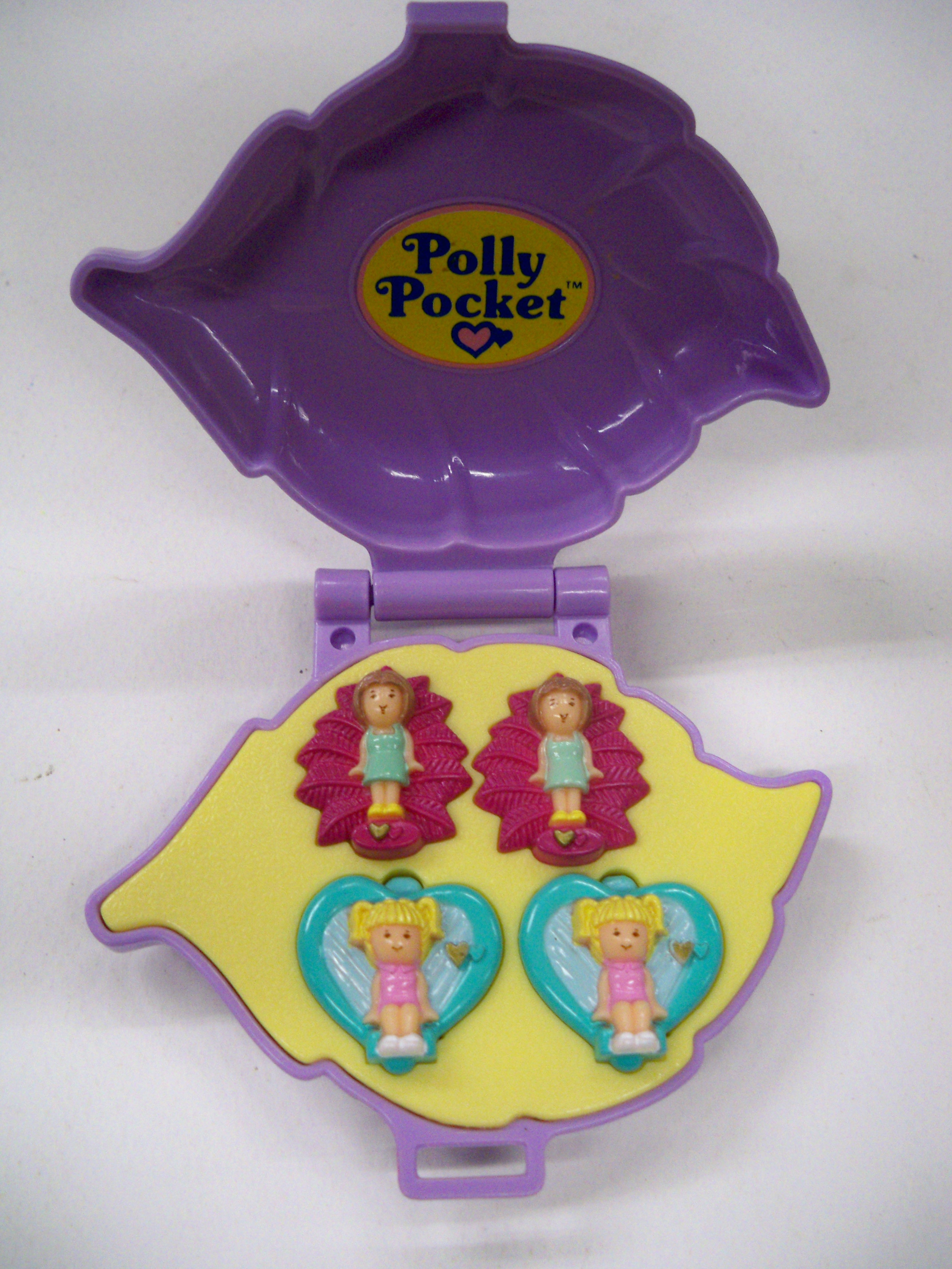 Polly ใบไม้สีม่วง