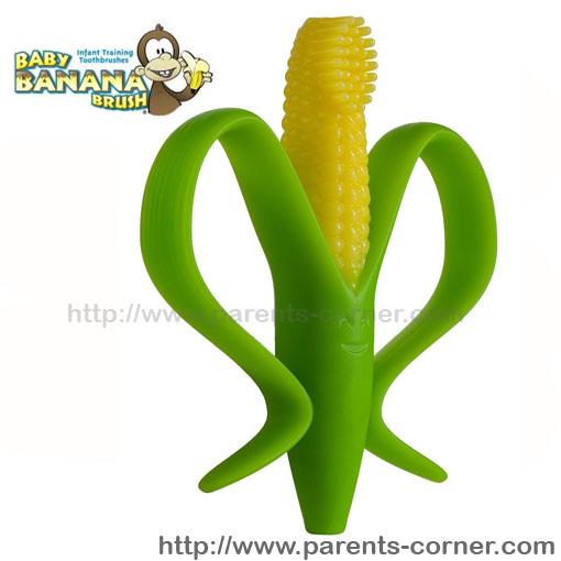 แปรงนวดเหงือกและฟันน้อง Baby Banana Cornelius Brush ของแท้