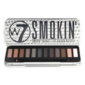 W7 Smokin Palette Eyeshadow