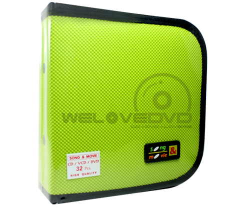 Cloth 32 Disc Capacity CD Wallet (1 PCS)
